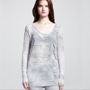 Helmut Lang oversized long sleeve